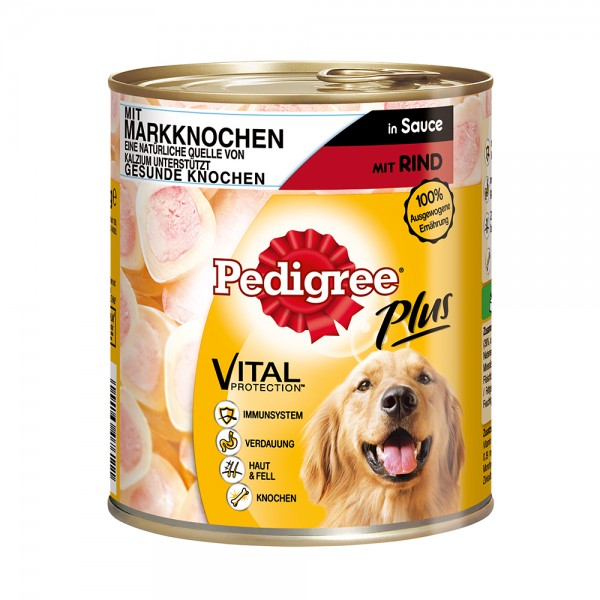 Pedigree Plus Markknochen-Rind