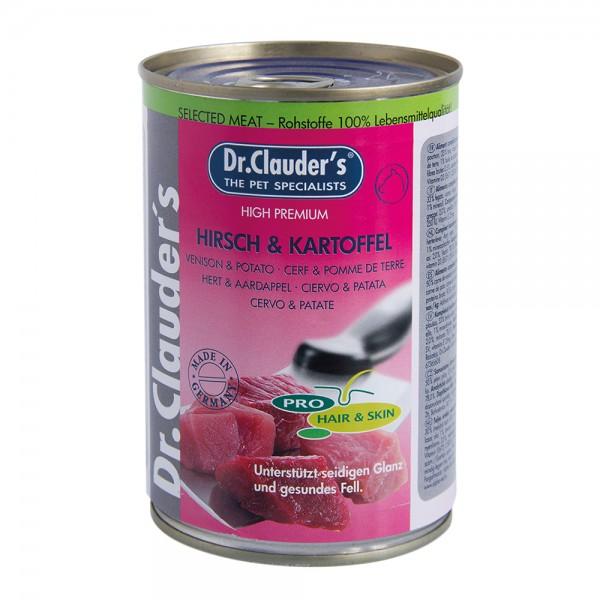 Dr. Clauder Selected Meat Hirsch & Kartoffel