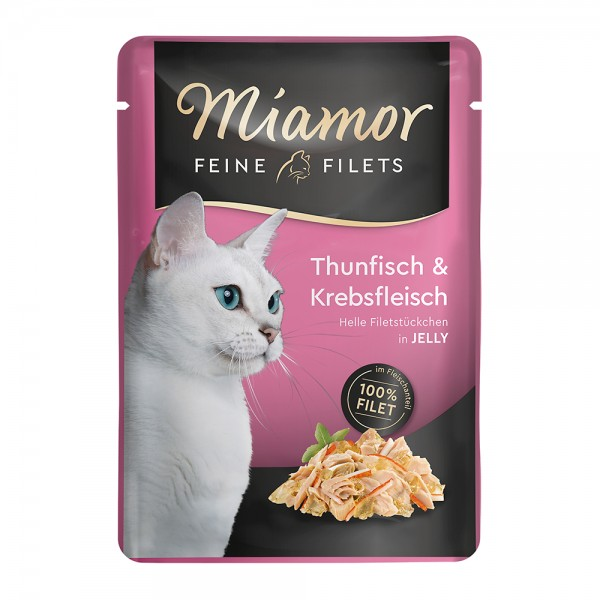 Miamor Feine Filets in Jelly Thunfisch & Krebs