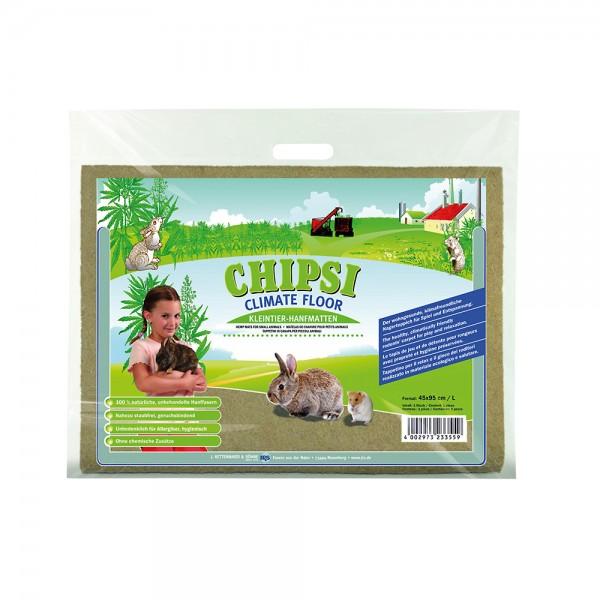 Chipsi Climate Floor Kleintier-Hanfmatte Größe L (45x95cm)