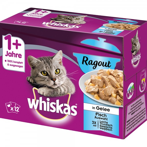 Whiskas MP 1+ Ragout Fischauswahl