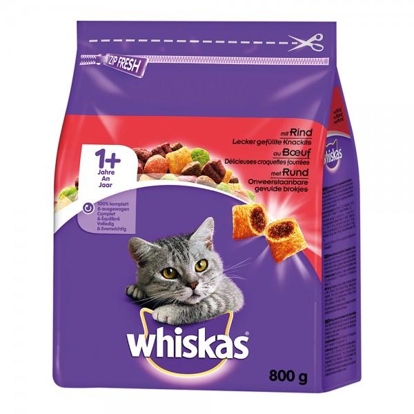 Whiskas 1+ mit Rind
