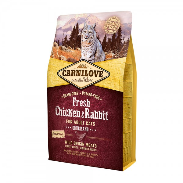 Carnilove Cat Adult Fresh Chicken & Rabbit