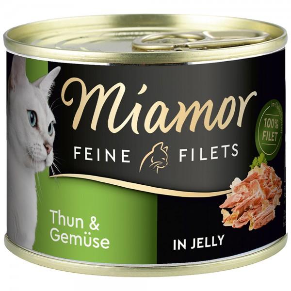 Miamor Feine Filets in Jelly Thunfisch & Gemüse