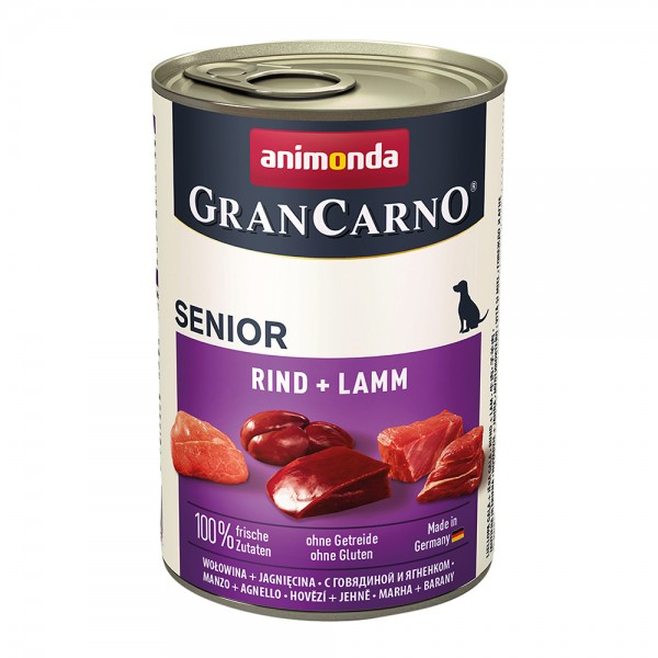 Animonda Gran Carno Original Senior mit Rind + Lamm