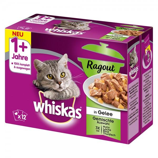 Whiskas 1+ Ragout Gemischte Auswahl