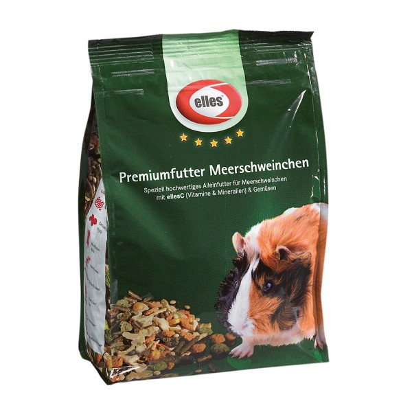 elles Premiumfutter Meerschweinchen 800 g