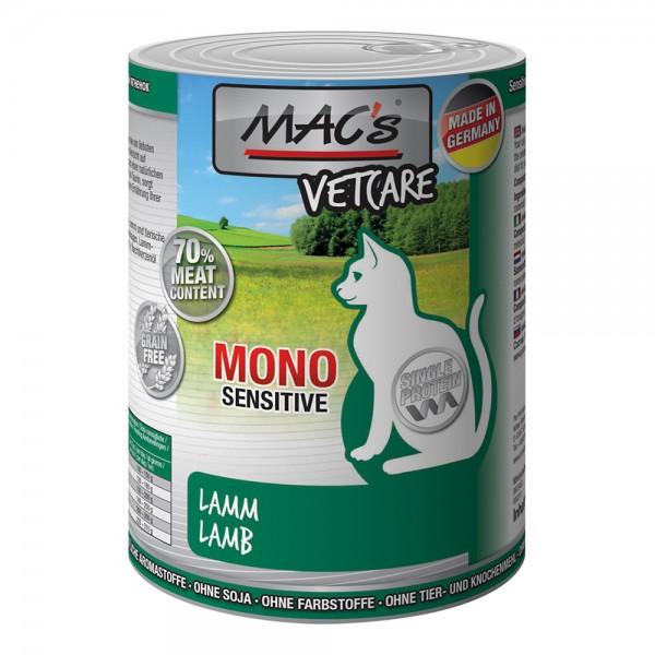 MAC´s CAT Mono Sensitive Lamm mit Karotte