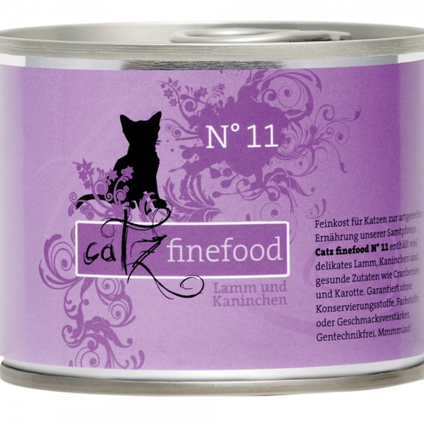Catz Finefood No. 11 Lamm & Kaninchen