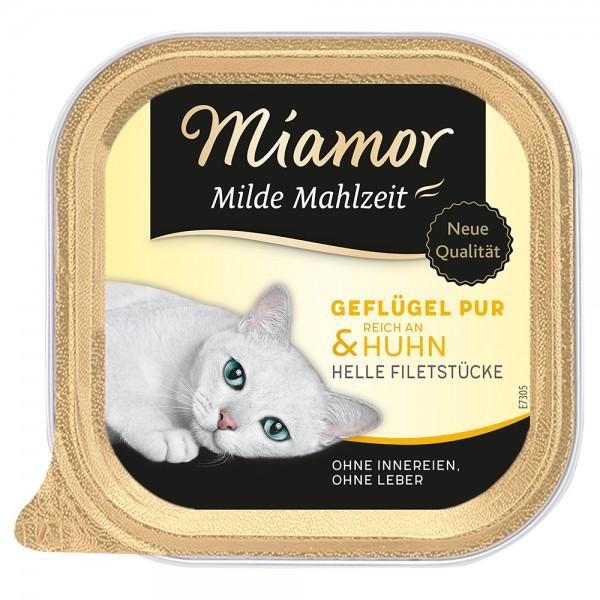 Miamor Milde Mahlzeit Geflügel & Huhn