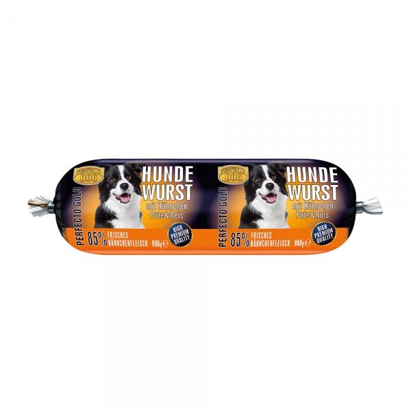 Perfecto Dog Hundewurst Hähnchen, Pute & Reis
