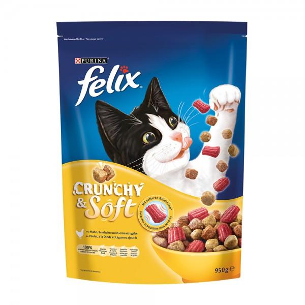 Felix Crunchy & Soft Geflügel