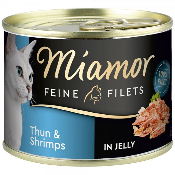 Miamor Feine Filets in Jelly Thunfisch & Schrimps