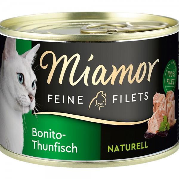 Miamor Feine Filets Natur Bonito-Thunfisch