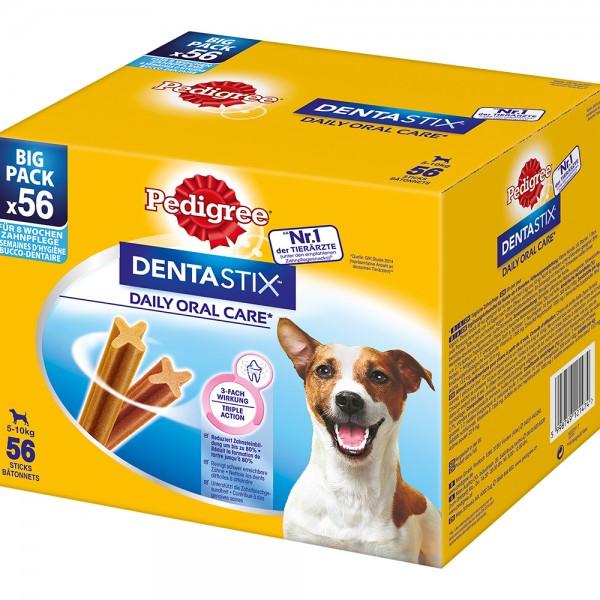 Pedigree Dentastix Tägliche Zahnpflege Big Pack für kleine Hunde 56 Stück