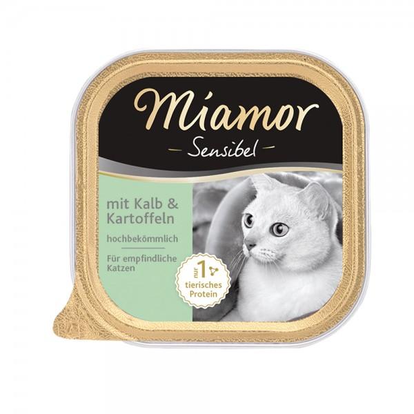 Miamor Sensibel Kalb & Kartoffel
