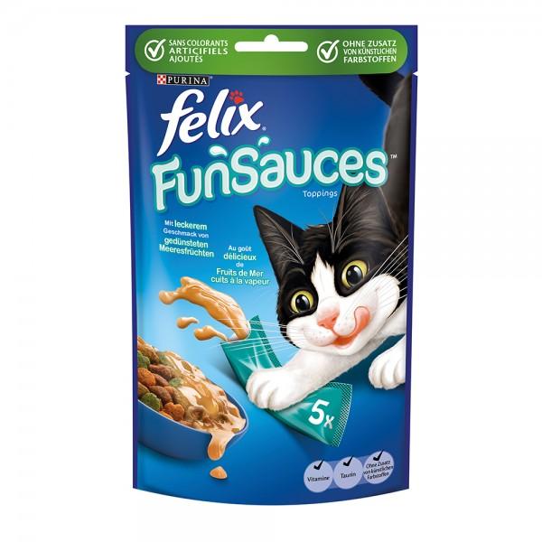 Felix Fun Sauces mit gedünsteten Meeresfrüchten