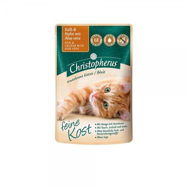 Allco Christopherus Katze Adult - Kalb und Huhn mit Aloe Vera