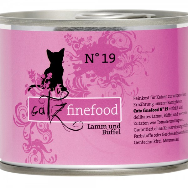 Catz Finefood No. 19 Lamm & Büffel
