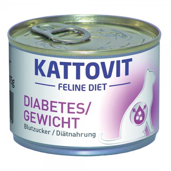Kattovit Diabetes/Gewicht