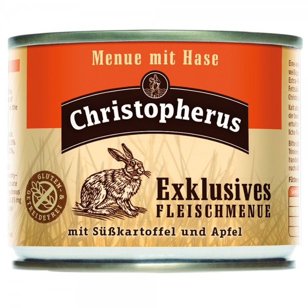 Allco Christopherus Exklusives Fleischmenü mit Hase
