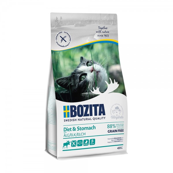 Bozita Feline Diet & Stomach GF Elk