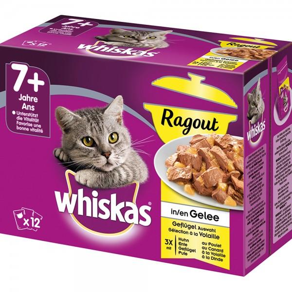 Whiskas MP 7+ Ragout Geflügelauswahl
