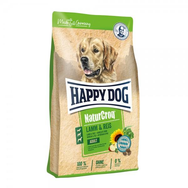 Happy Dog Natur-Croq Lamm & Reis