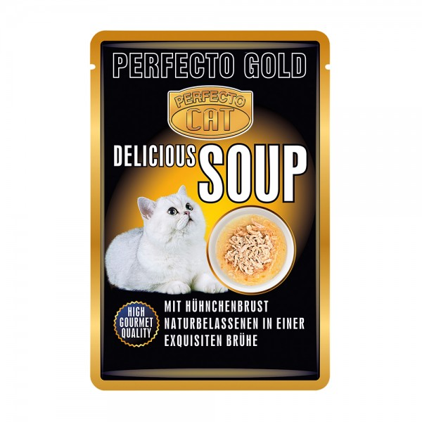 Perfecto Cat Delicious Soup Hühnerbrust