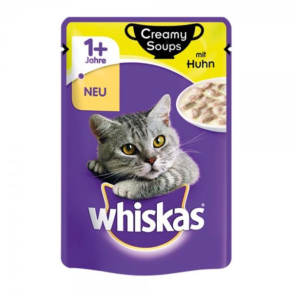 Whiskas 1+ Creamy Soups mit Huhn