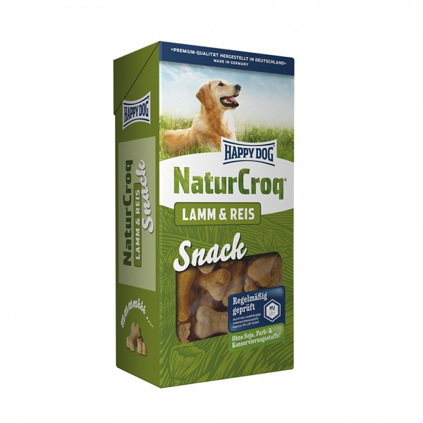 Happy Dog Natur Snack Lamm + Reis