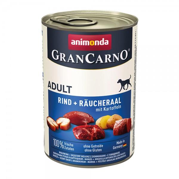 Animonda Gran Carno Original Adult Rind+Räucheraal mit Kartoffel