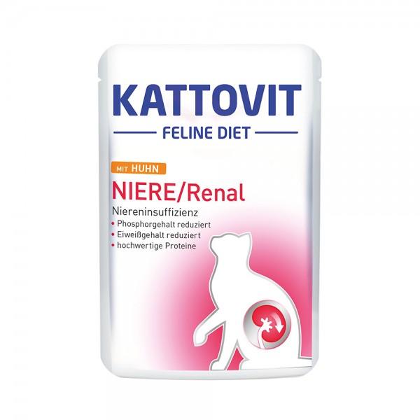 Kattovit Niere/Renal mit Huhn