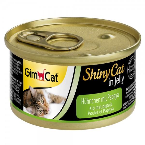 GimCat Shinycat Hühnchen + Papaya