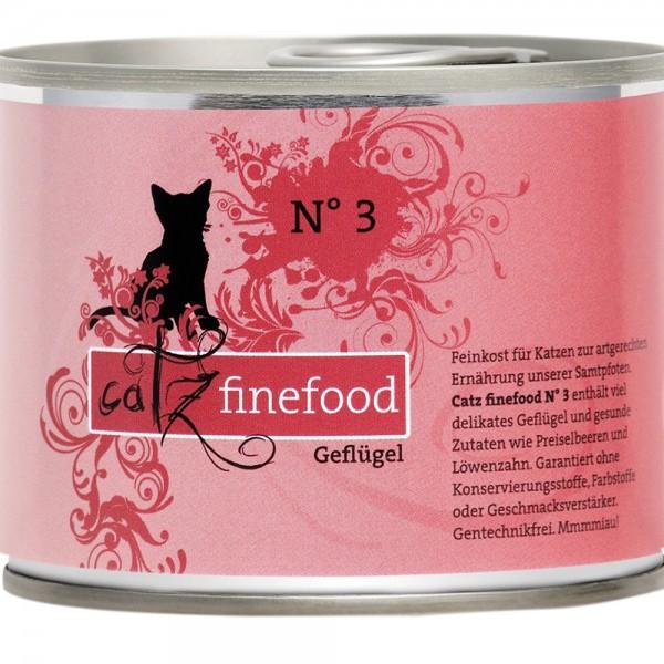 Catz Finefood No. 3 Geflügel