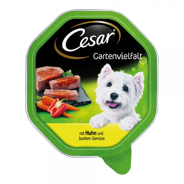Cesar Gartenvielfalt Huhn & Gemüse