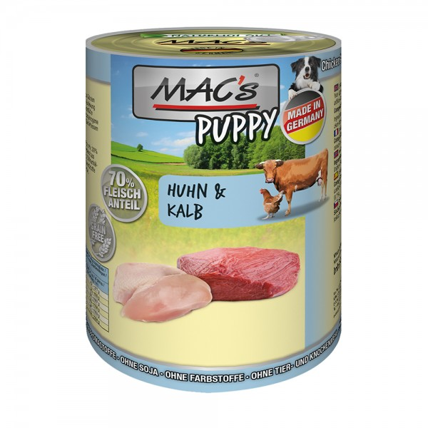 MAC´s DOG Puppy Huhn & Kalb