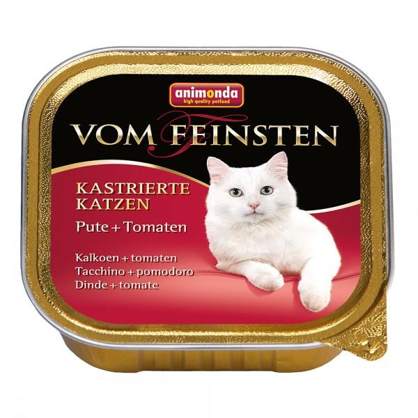 Animonda Vom Feinsten für kastrierte Katzen Pute + Tomate
