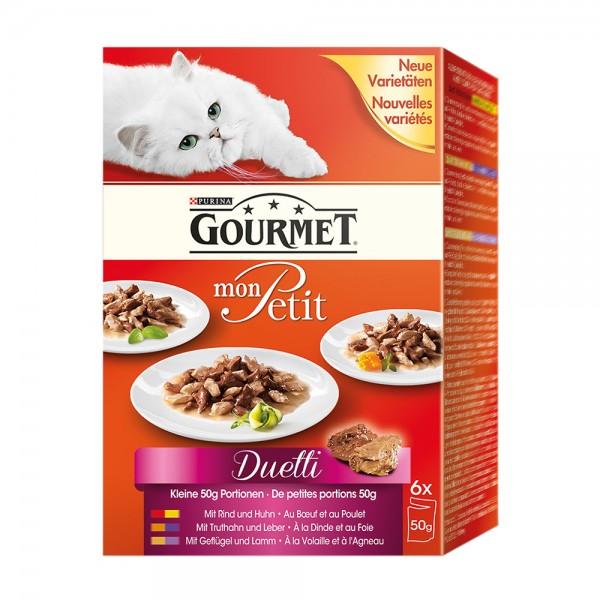 Gourmet Mon Petit Duetti Fleisch