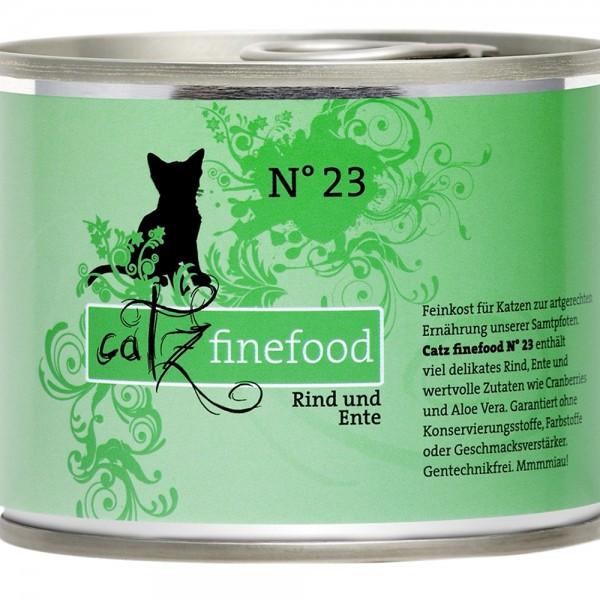 Catz Finefood No. 23 Rind & Ente