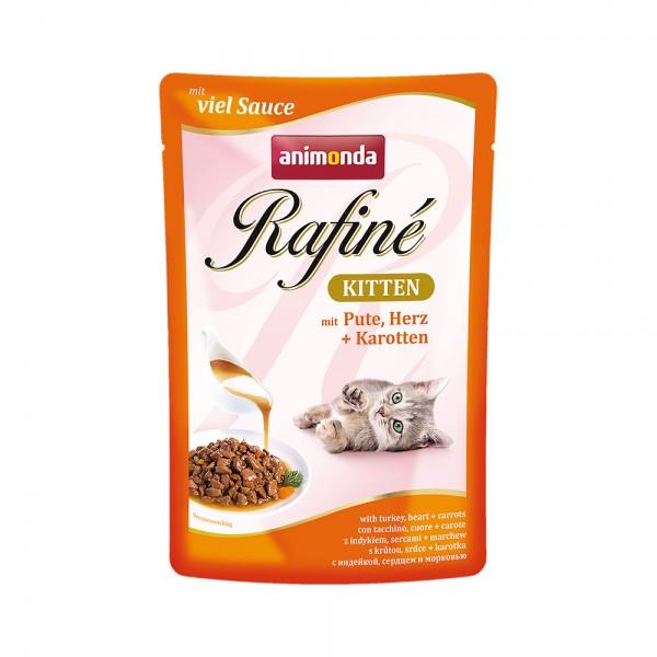 Animonda Rafine Kitten mit Pute, Herz & Karotten