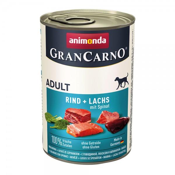 Animonda Gran Carno Original Adult Rind+Lachs mit Spinat