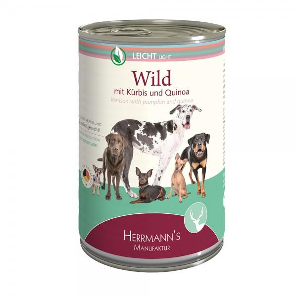 Herrmanns Leicht Wild mit Kürbis und Quinoa
