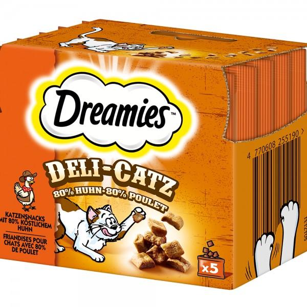 Dreamies Deli-Catz mit Huhn