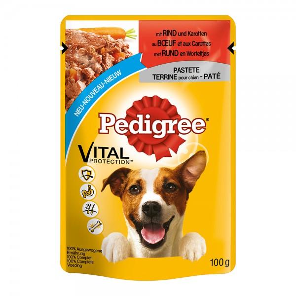 Pedigree Pastete Rind+Karotten