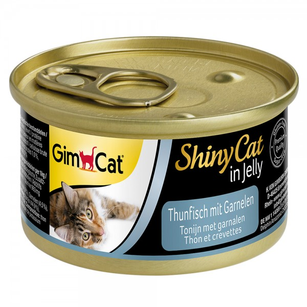 GimCat Shinycat Thunfisch + Garnele