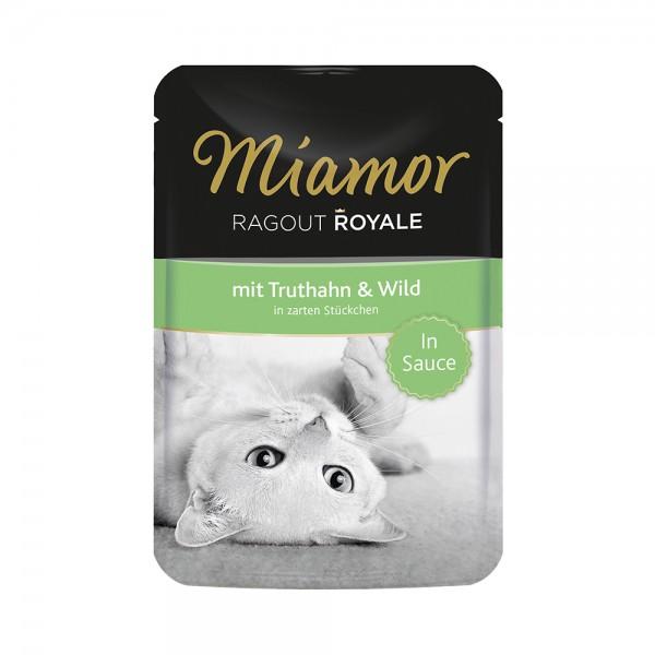 Miamor Ragout Royale in Sauce Truthahn & Wild