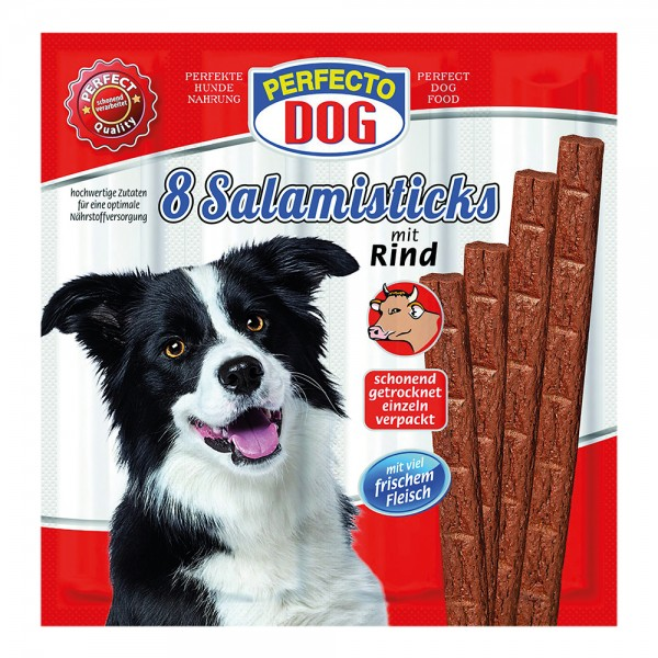 Perfecto Dog Salami mit Rind Hundesnacks