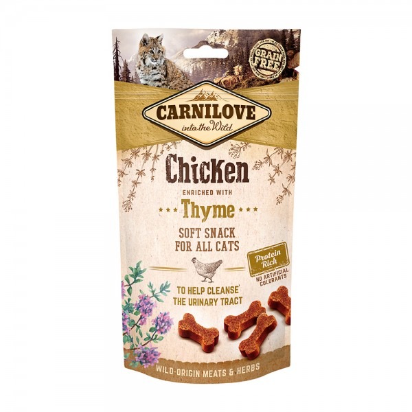 Carnilove Soft Snack Chicken with Thyme