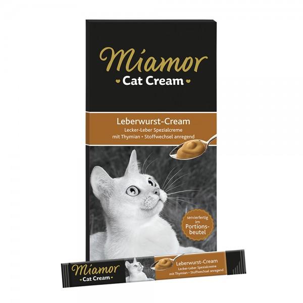 Miamor Cat Snack Leberwurst-Cream